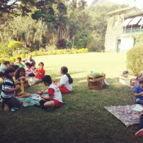 Fotos tiradas na Oficina de Arte e Jardinagem, no 132° Grupo de Escoteiros Oliveira Bulhões.